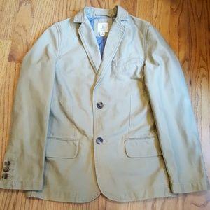 Lands' End Boy's size 8 Cotton Blazer / Suit Coat